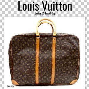 0fe8130622952c Louis Vuitton Travel Bag serius 55 Suitcase brown